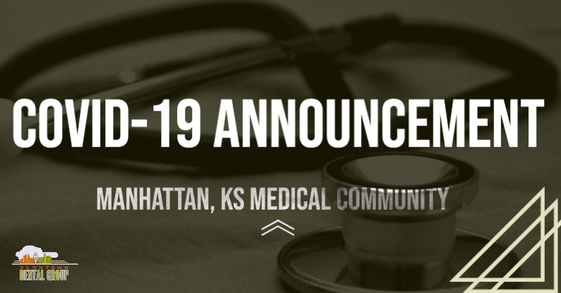 COVID-19 Announcement from the Manhattan, KS Medical Community